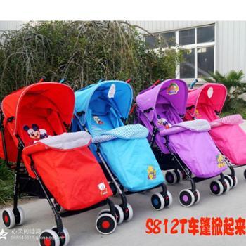 爱尔宝贝S812T多功能可折叠婴儿伞把车、推车厂家直销冬夏两用