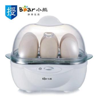 小熊/BearZDQ-204煮蛋器6个蛋容(配不锈钢蒸碗)白色