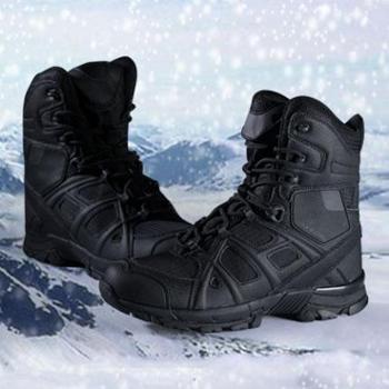 欧美新款轻质舒适沙漠战靴大码 男士时尚军靴 高帮户外登山运动鞋靴 SNT0062