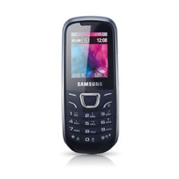 三星 E1220i GSM 手机 黑蓝色 老人机 学生机
