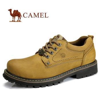 camel/骆驼 头层牛皮男鞋