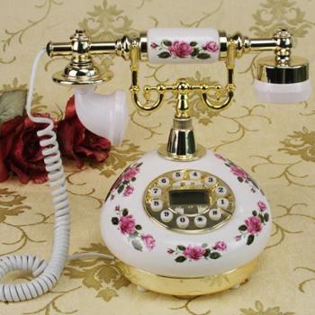 欧典仿古电话机老式电话古董电话CY-613款