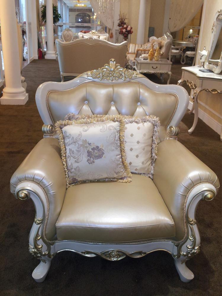 欧式沙发 新古典实木沙发