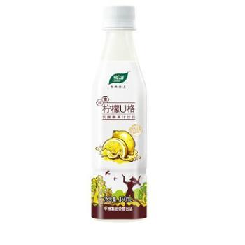 【中粮我买网】悦活柠檬U格乳酸菌果汁饮品350ml