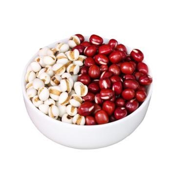 耕叔五谷杂粮山地红小豆1斤+薏米仁1斤组合套餐