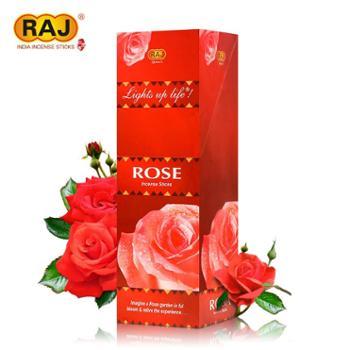 RAJ印度香玫瑰ROSE正品印度原装进口手工花香薰熏香料线香163