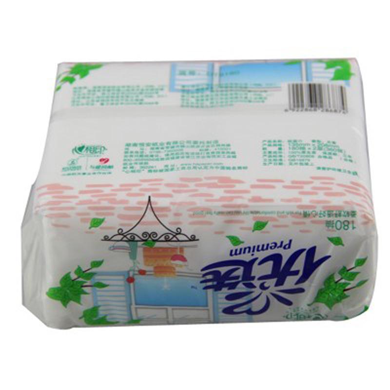 产品名称:心相印优选面巾纸-心相印软抽面巾纸 餐巾纸优选180抽DT图片