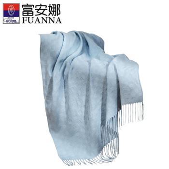 富安娜家纺毯子双人午休毯空调毯子盖毯子三色可选臻颜格子