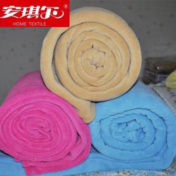 安琪尔家纺 床上用品 珊瑚绒毯 毛毯