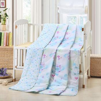 安琪尔家纺全棉印花夏凉被 空调被 舒适夏被 单人/双人大小号