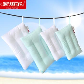 安琪尔家纺 全棉可水洗保健护颈枕芯 儿童枕头 婴童软枕头 枕头 一个包邮