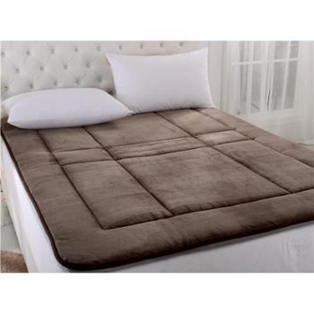 安琪尔家纺 法兰绒生态超柔保健软床垫