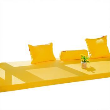 安琪尔家纺飘窗垫定制棉麻海绵榻榻米床垫定做防滑阳台窗台垫沙发垫