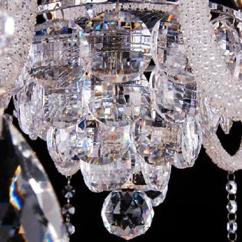 凯奢埃及阿斯福进口水晶灯欧式现代简约客厅水晶吊灯