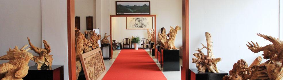 如东木雕艺术馆-善融商务个人商城专营红木古典家具