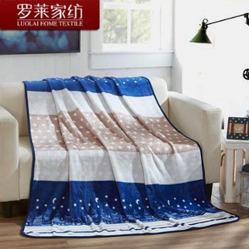 【天天享|首单实付74元,第2-3单实付59元】罗莱家纺 梦幻星空靠垫毯 毯子