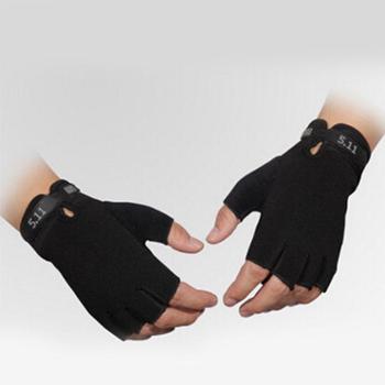 R4韩版511防晒防滑户外手套男士薄款开车战术健身运动半指手套