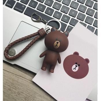 韩国钥匙扣创意卡通个性汽车男女可爱情侣创意简约公仔书包挂件