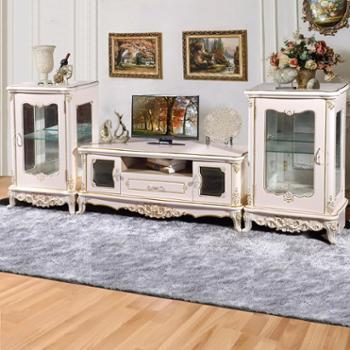 最新爆款欧式法式电视柜 影视柜 豪华客厅家具