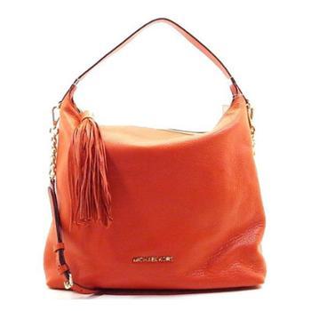 MICHAEL KORS 迈克.科尔斯 MK 女包 女士月牙包 单肩包 斜挎包 手提包 30T3MWSL3L 橘红色