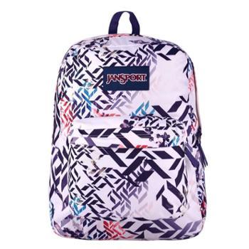 JanSport杰斯伯双肩包官方男女背包书包T501花色 49L几何之花