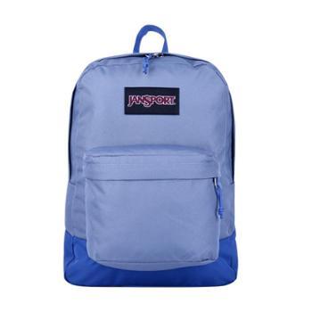 JANSPORT 杰斯伯 男女款双肩背包校园休闲包书包 T60G0HA青灰蓝