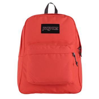 JANSPORT 杰斯伯 男女款双肩背包校园休闲包书包 TWK80D5深橙