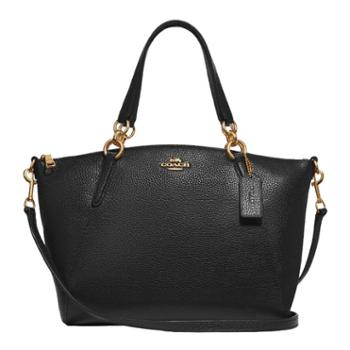 蔻驰(COACH)女包 女士中号饺子包 单肩包 斜挎包 手提包 F28993 黑色(IMBLK)