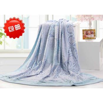 包邮金号毛巾 纯棉提花毛巾被/空调毯G4009 210*155cm