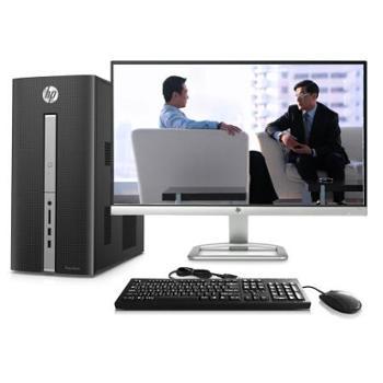 惠普(HP)畅游人Pavilion 550-259cn 台式办公电脑整机(i5-6400 4G 1T GTX745 4G独显 Win10)23英寸