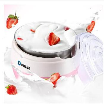 东菱(Donlim)DL-SNJ09 酸奶机 家用全自动 1L 粉色