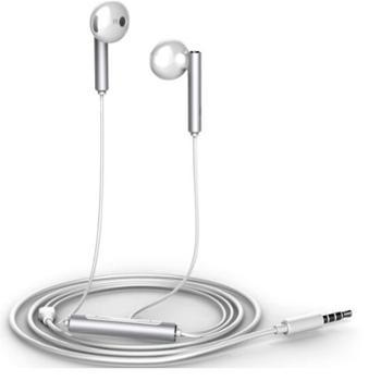 华为(HUAWEI)原装三键线控带麦半入耳式耳机AM116