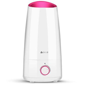 志高ZG-C883 加湿器 家用 4L大容量 卧室 办公室净化 家用迷你香薰 粉色