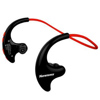 纽曼Q10蓝牙耳机运动头戴式跑步MP3一体式迷你随身听APP控制