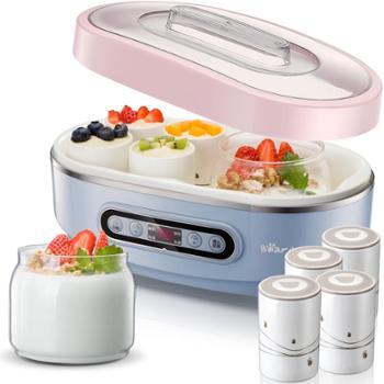 酸奶机小熊酸奶机玻璃双内胆陶瓷分杯酸奶机SNJ-A15K1