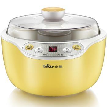 酸奶机小熊酸奶机不锈钢家用全自动迷你分杯米酒发酵机SNJ-B10K1