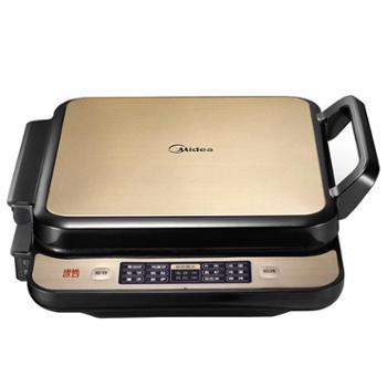 美的(Midea)家用双面悬浮加热蛋糕烙饼机功能智能煎烤机JCN2828D
