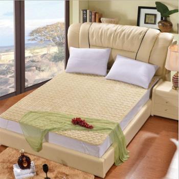 洁帛 法莱绒床垫床护垫 适合1.5-1.8米床使用 舒适柔软