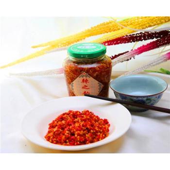 张家界土特产灵洁食品七星辣椒700g辣之韵剁辣椒酱菜