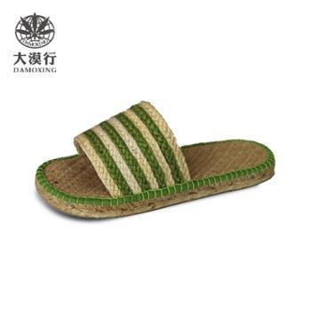 大漠行麻鞋 女款 绿色 DM2873