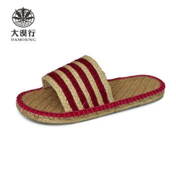 大漠行麻鞋 女款 凉鞋 红色DM2873
