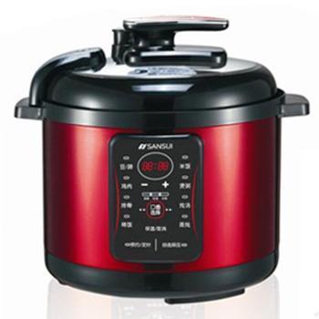 十锅-山水超级电压力锅 中国红电压力锅 一锅顶十锅 50d11-厨房电器