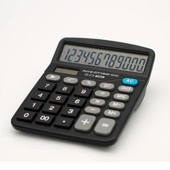欧标桌面计算器 B2301 黑色