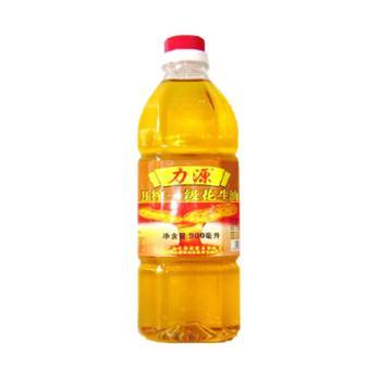 【力源粮油食品】力源花生调和油 植物食用油 900ml/瓶