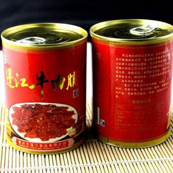 阿蓬江200g麻辣牛肉脯罐装