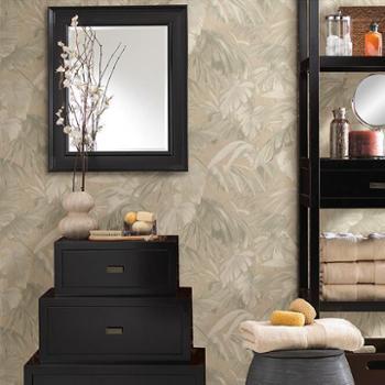 布鲁斯特进口正品原装纯纸墙纸壁纸欧式传统素锦雅韵FD52403、52436、52472、66601