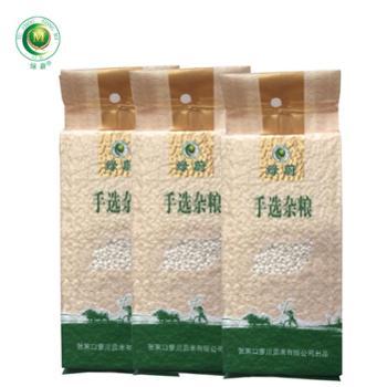 绿蔚 手选杂粮 白糯米 500克*3袋