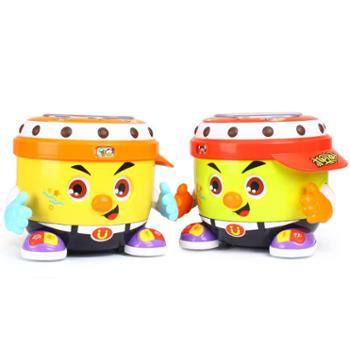 汇乐玩具788DJ阿古会唱歌跳舞的玩具摇摆手拍鼓跳舞机器人