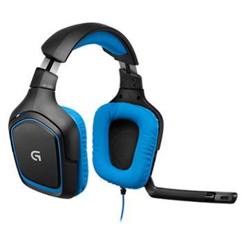 罗技(G)G430 7.1有线环绕声游戏耳机 头戴式