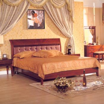 A01新古典/后现代欧式家具卧式双人床